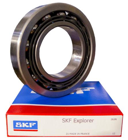 7205 BEP SKF 25x52x15 mm Angular contact ball bearing